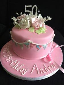 50th Birthdat Cake